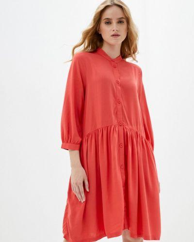 Прямое красное платье Q/s Designed By