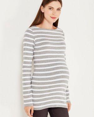 Серый лонгслив для беременных Gap Maternity