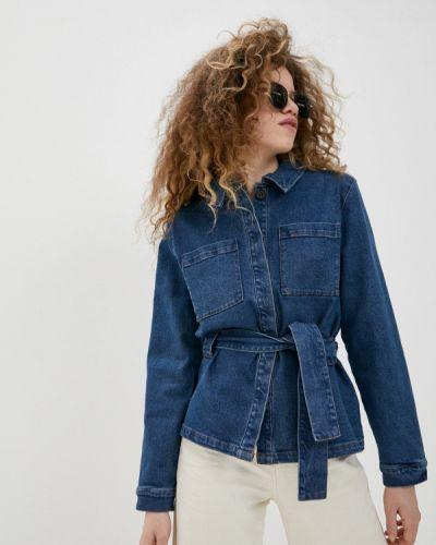 Джинсовая куртка - синяя Ichi