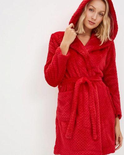 Красный халат домашний Deseo