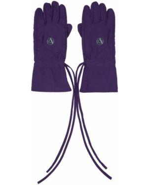 Rękawiczki z mankietami fioletowy Raf Simons