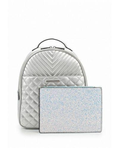 Рюкзак серебряного цвета Aldo