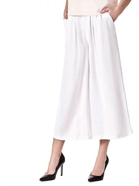 Szerokie spodnie spodnie chuligańskie z wiskozy Guess