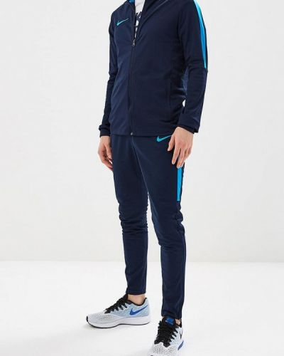 Синий спортивный костюм Nike