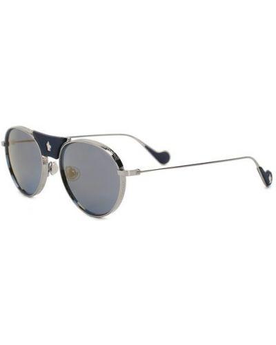 Солнцезащитные очки темно-синий синий Moncler