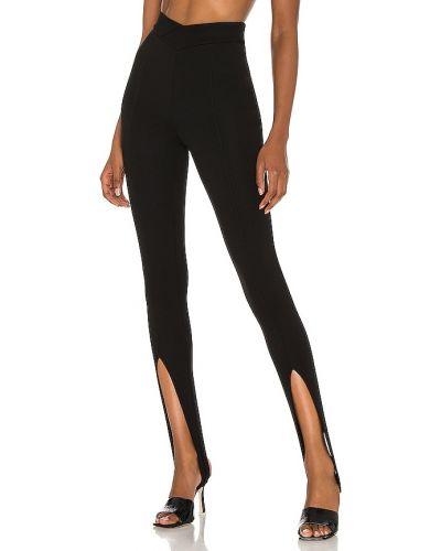 Czarne legginsy z nylonu H:ours