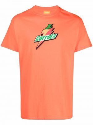 Pomarańczowa t-shirt bawełniana Carrots