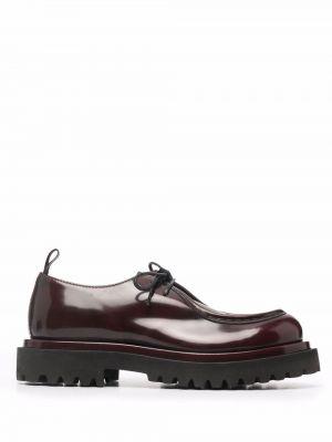 Кожаные туфли - красные Officine Creative