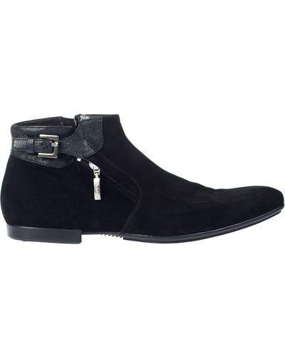 Кожаные ботинки замшевые осенние Cesare Paciotti