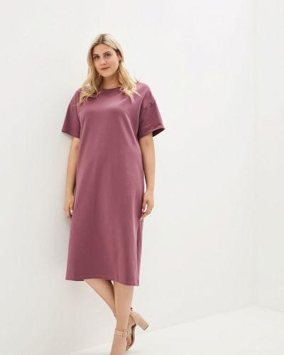 Платье розовое футболка наше