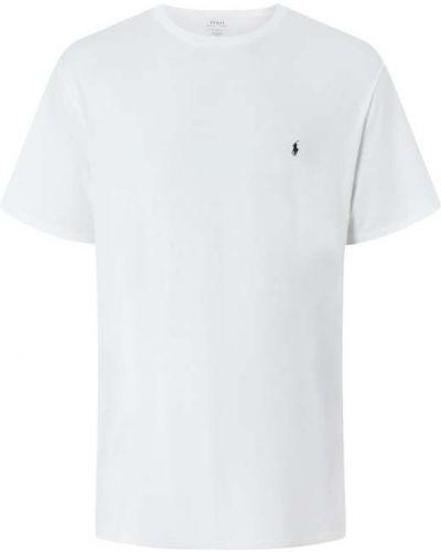 Biała piżama bawełniana Polo Ralph Lauren Big & Tall