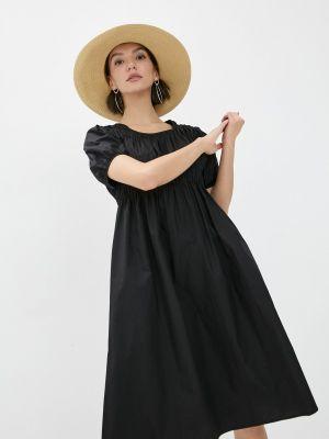 Прямое черное платье А-силуэта Compania Fantastica