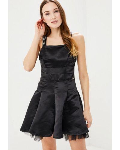 Черное платье весеннее Phard
