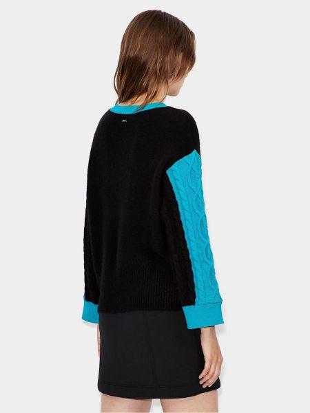 Черный свитер Armani Exchange