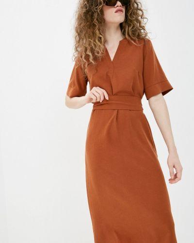 Оранжевое повседневное платье Savage