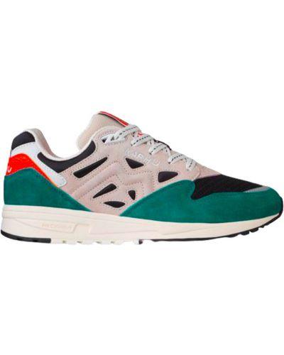 Zielone sneakersy do biegania Karhu