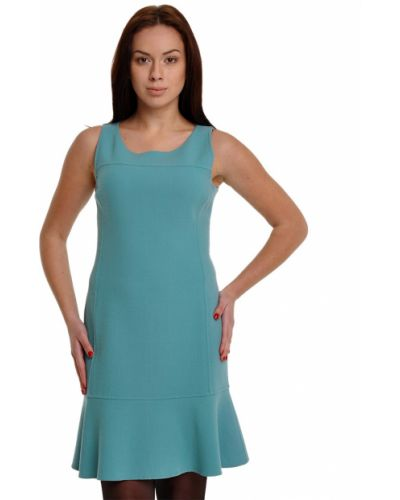 Шерстяное платье - бирюзовое Armani Collezioni