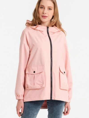 Облегченная розовая куртка Lab Fashion