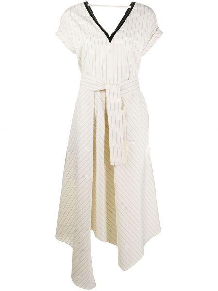 Платье миди мини с поясом Brunello Cucinelli
