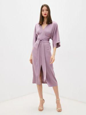 Вечернее платье - фиолетовое Seam