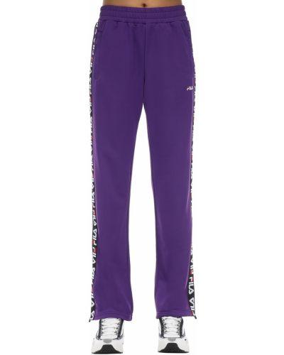 Спортивные брюки с завязками с карманами Fila Urban