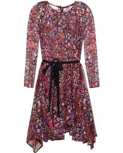 Шелковое платье мини Maje
