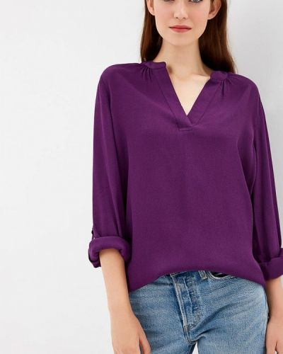 Фиолетовая блузка с длинным рукавом S.oliver