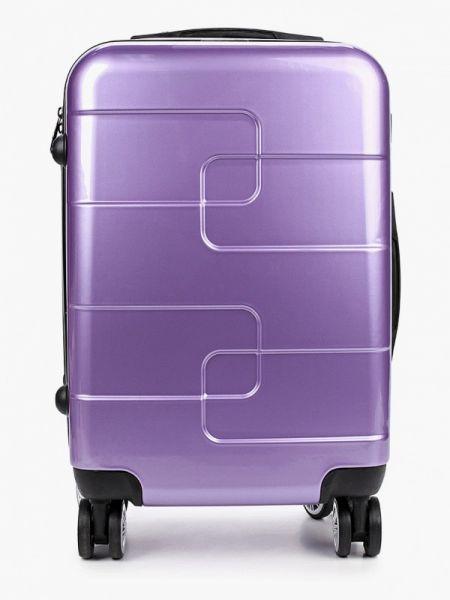 Фиолетовый чемодан Polar
