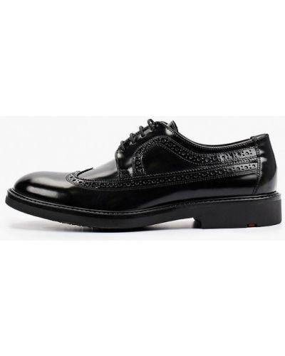 Черные зимние туфли Lloyd