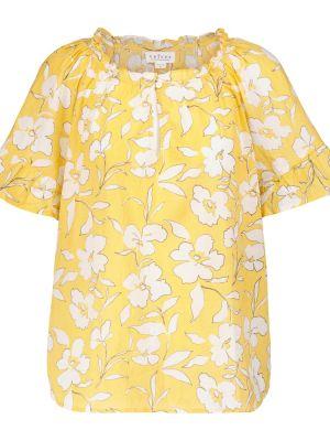 Żółta bluzka bawełniana Velvet