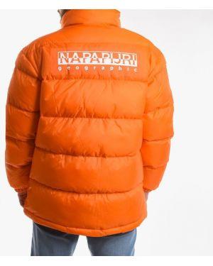 Куртка мотокуртка оранжевая Napapijri