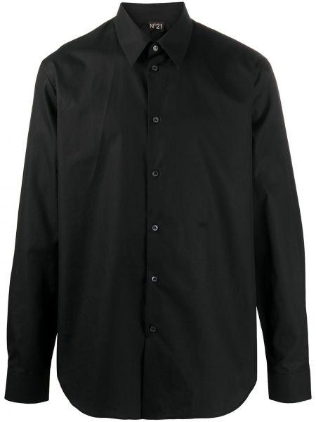 Koszula z długim rękawem klasyczna z kieszeniami N°21