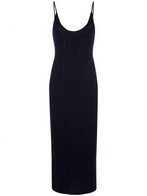 Приталенное платье миди без рукавов с вырезом квадратное Kiki De Montparnasse