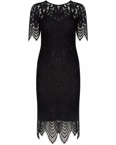 Вечернее платье облегающее с бахромой Essentiel Antwerp