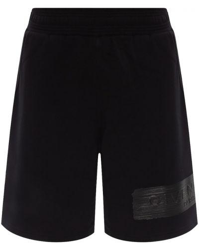 Spodenki dresowe dresowe - czarne Givenchy