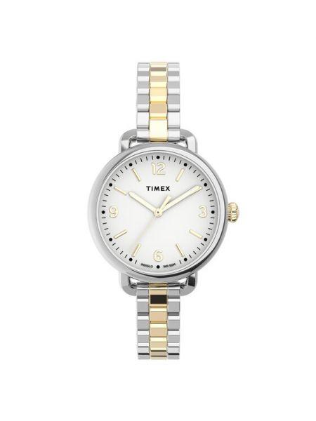 Złoty zegarek Timex