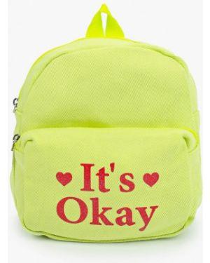 Зеленый рюкзак United Colors Of Benetton