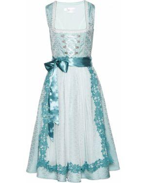 Платье с декольте с бисером Bonprix