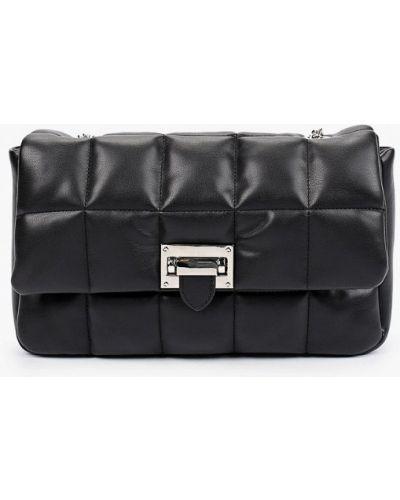 Черная кожаная сумка через плечо Lolli L Polli
