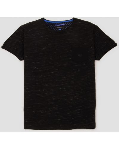 Футболка с карманами - черная Benson & Cherry