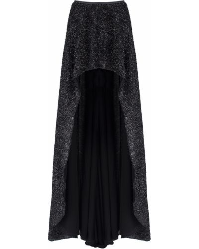 Черная юбка мини со шлейфом Jay Ahr
