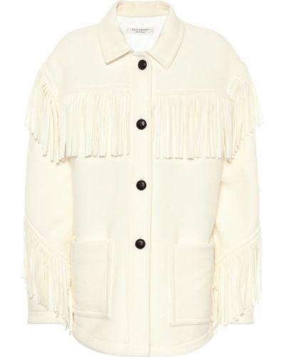 Шерстяная белая куртка Philosophy Di Lorenzo Serafini