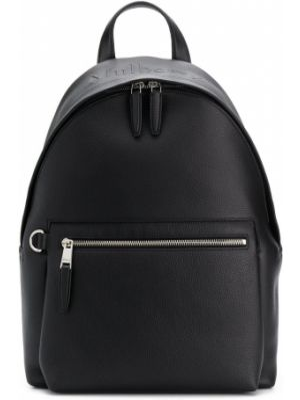 Czarny plecak skórzany Mulberry