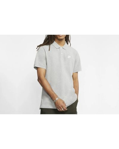 T-shirt bawełniana - szara Nike