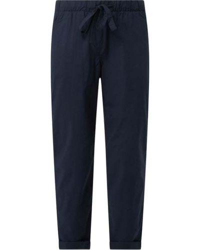 Niebieskie spodnie bawełniane Tom Tailor
