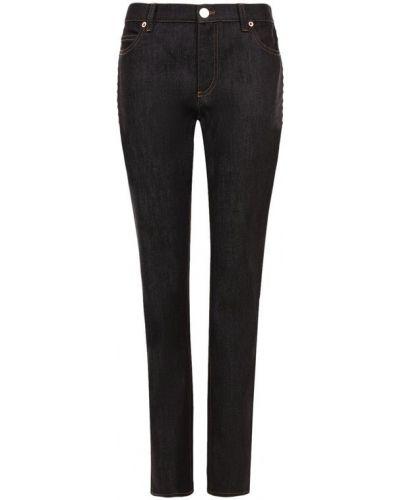 Прямые джинсы с шипами синие Valentino