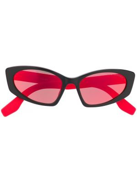 Муслиновые черные солнцезащитные очки Marc Jacobs Eyewear