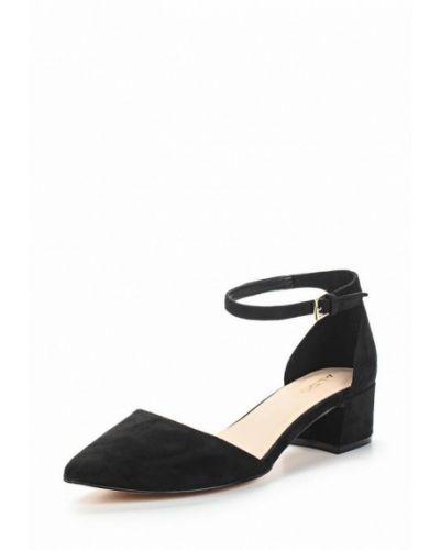 Черные туфли с застежкой на лодыжке Aldo