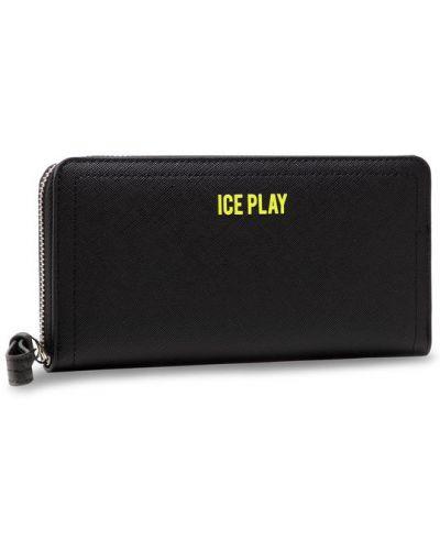 Czarny portfel oversize Ice Play