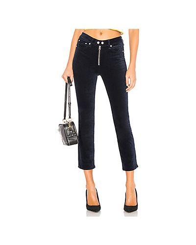 Свободные брюки расклешенные вельветовые Rag & Bone/jean